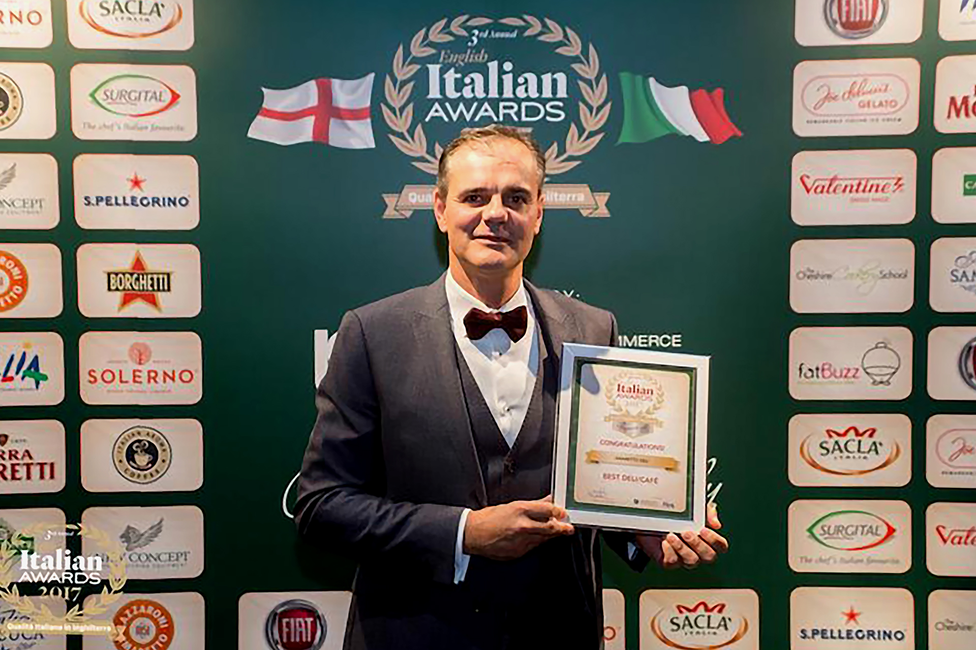 onafez design amaretto deli norwich italian awards 3rd