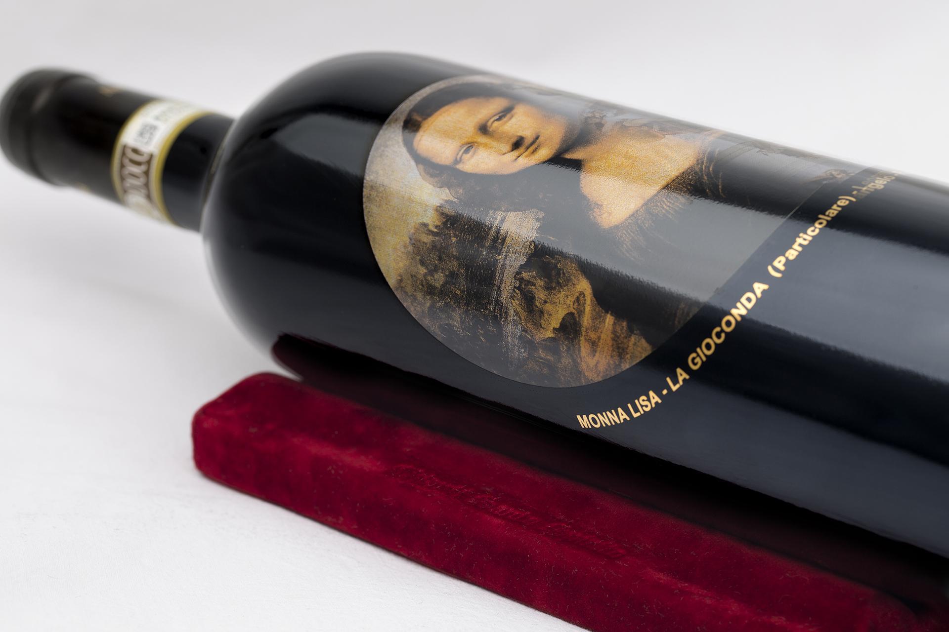onafez design santo spirito collezione arte wine gioconda bordolese