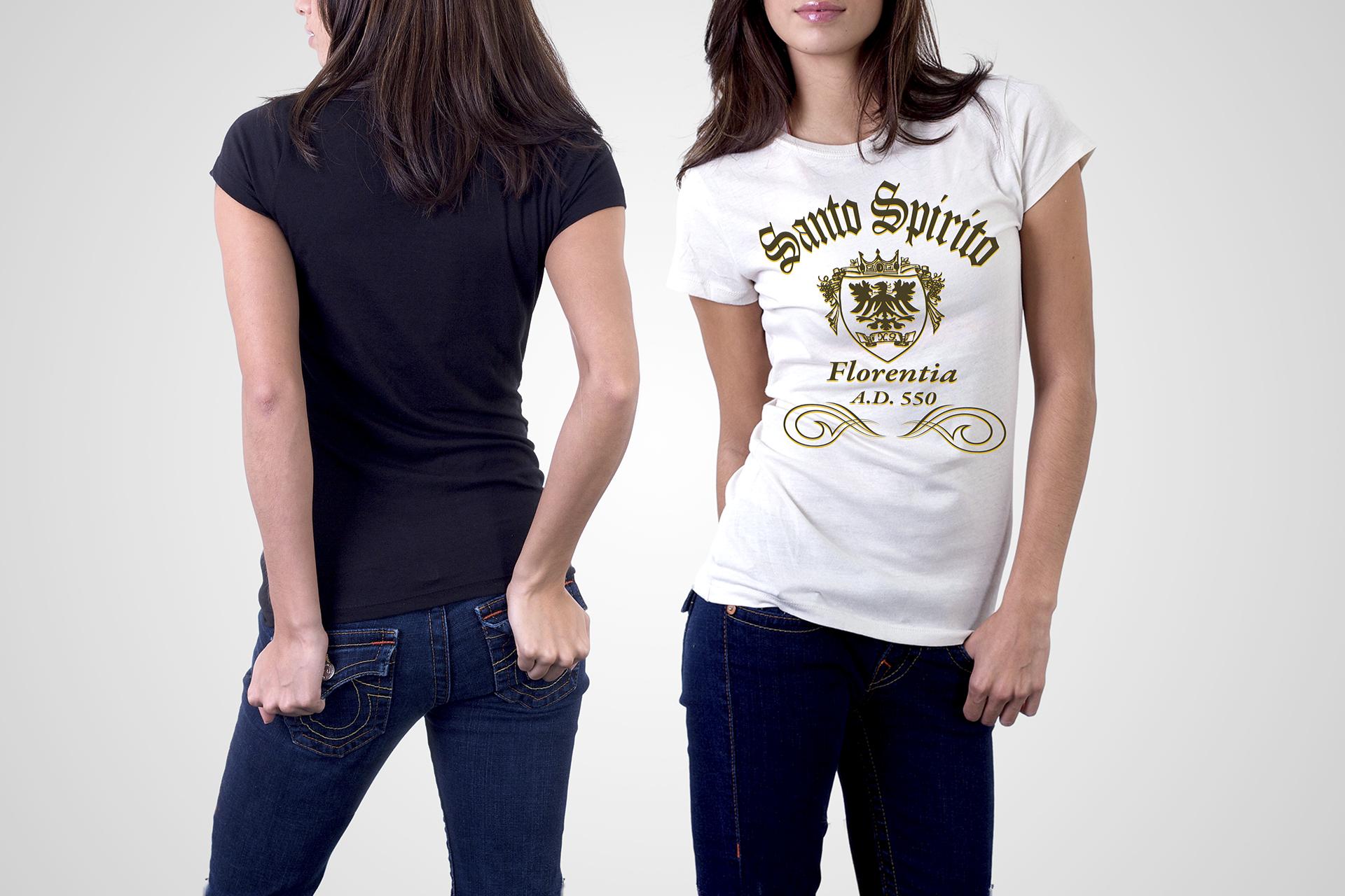 onafez design santo spirito collezione arte t-shirt tee