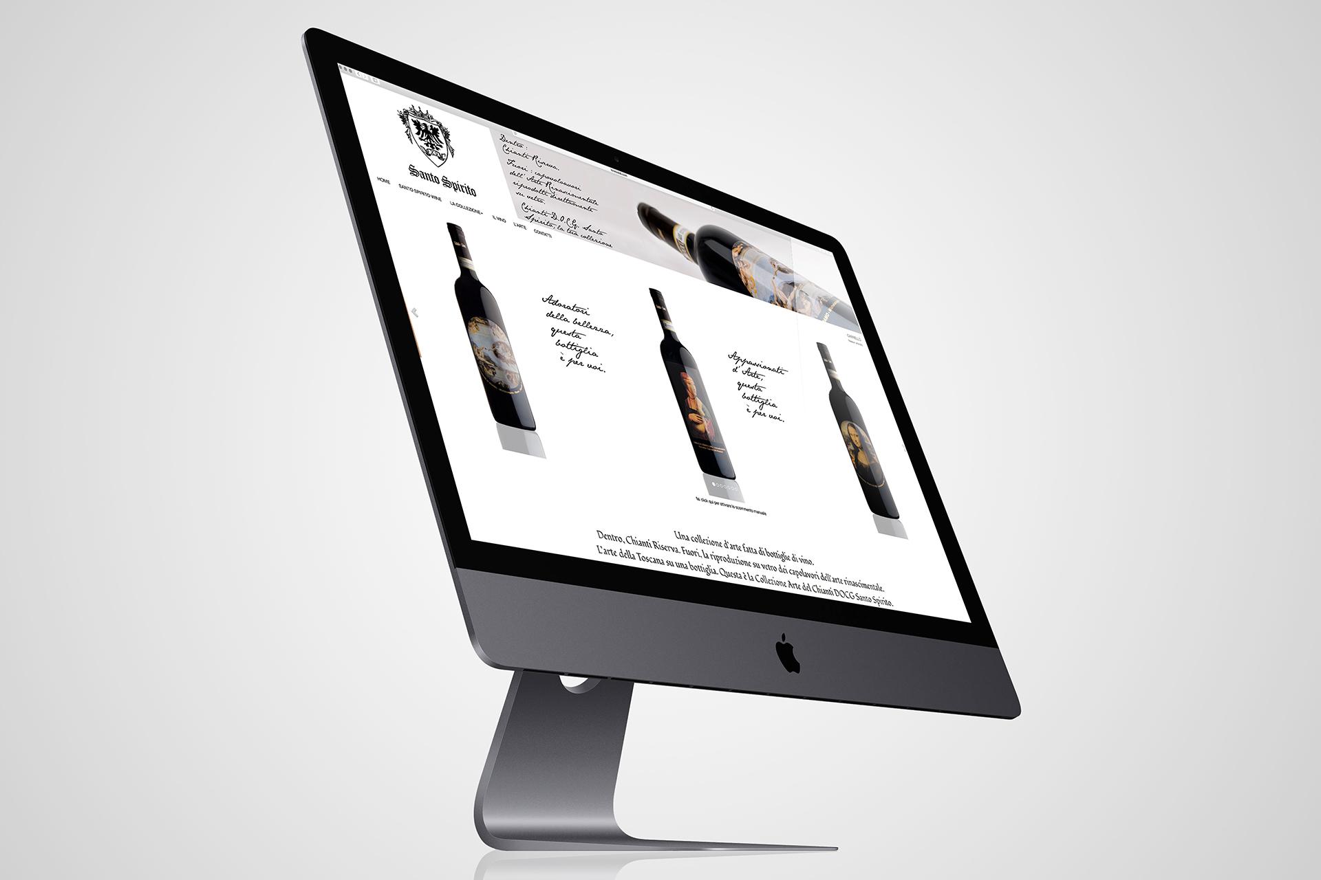 onafez design santo spirito collezione arte website webdesign