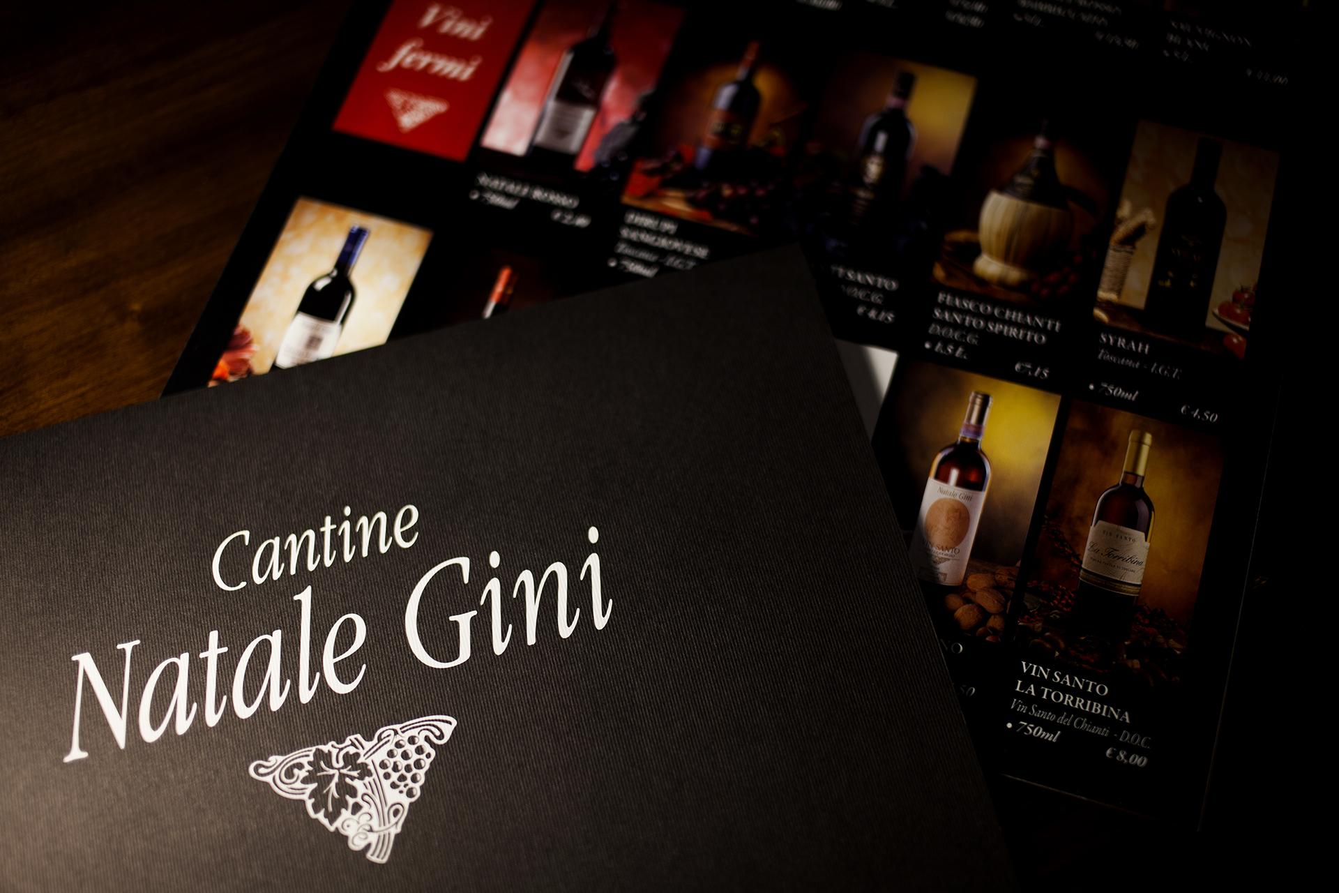 onafez design natale gini vino depliant