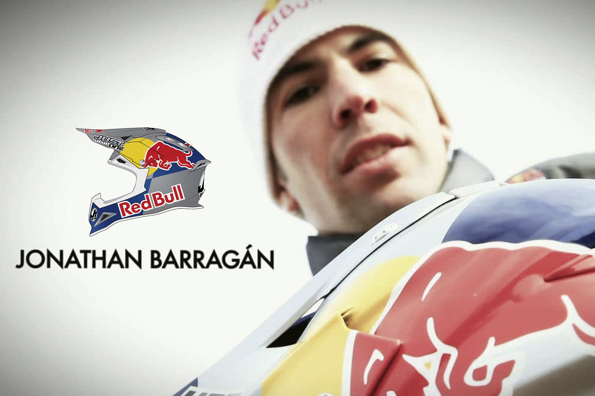 onafez design just one mx gear off-road red bull barragan helmets