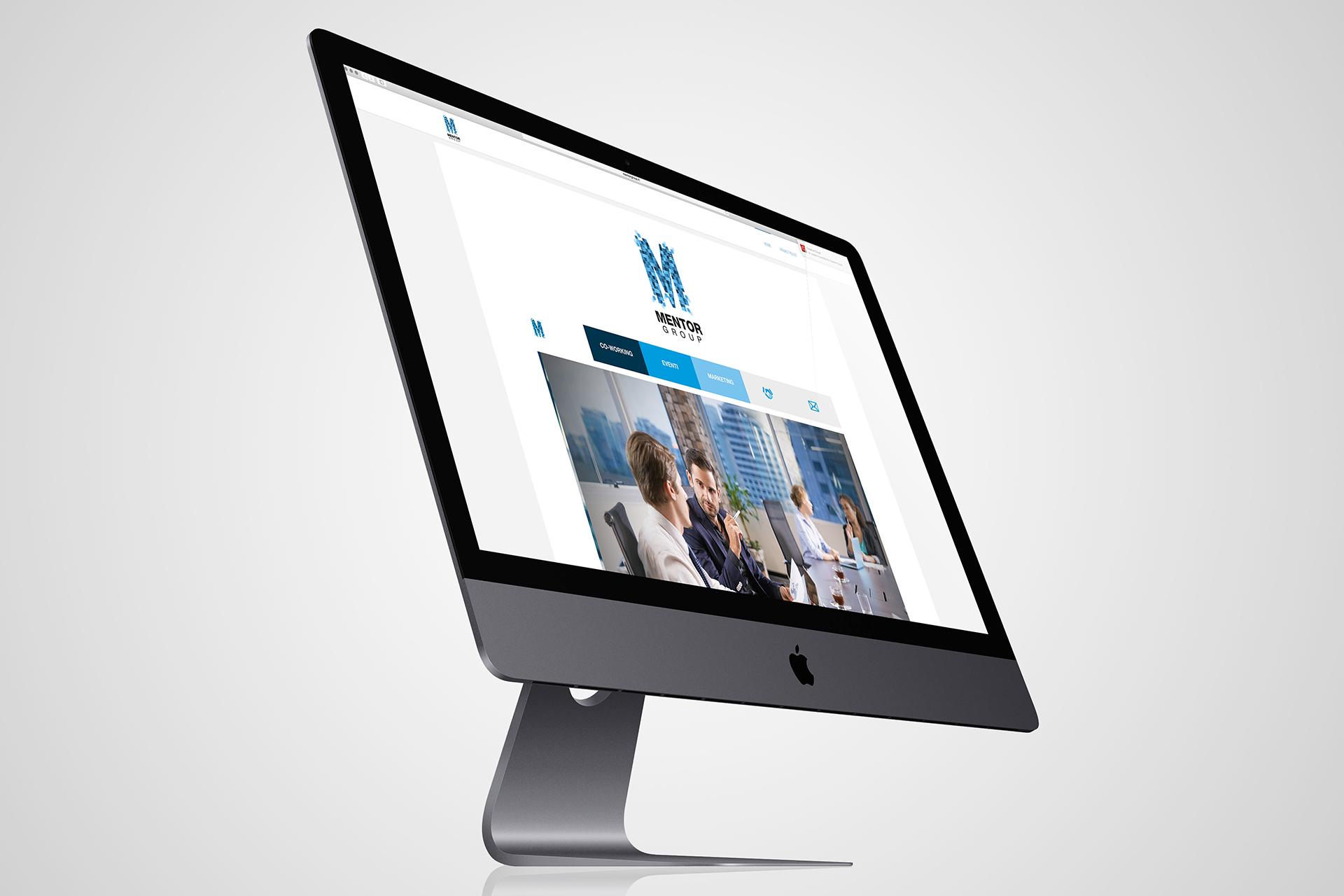 onafez design mentor group logo website web design